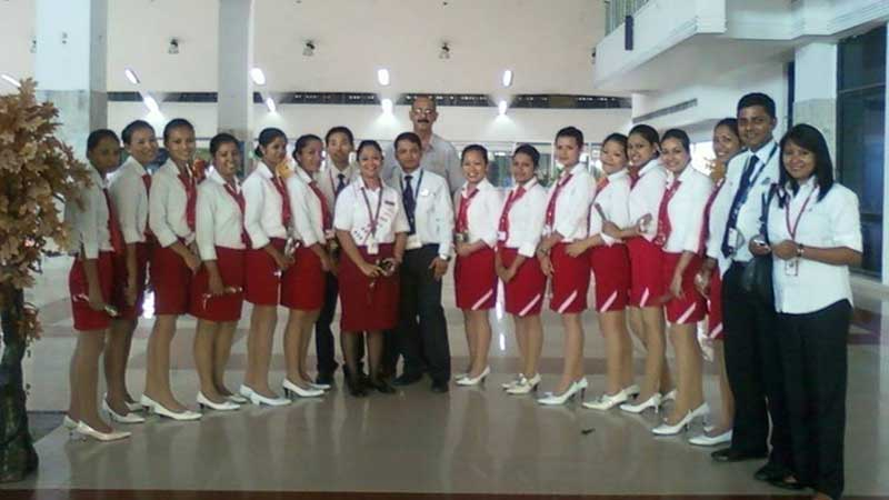 Airport Visit Sky International Academy Guwahati
