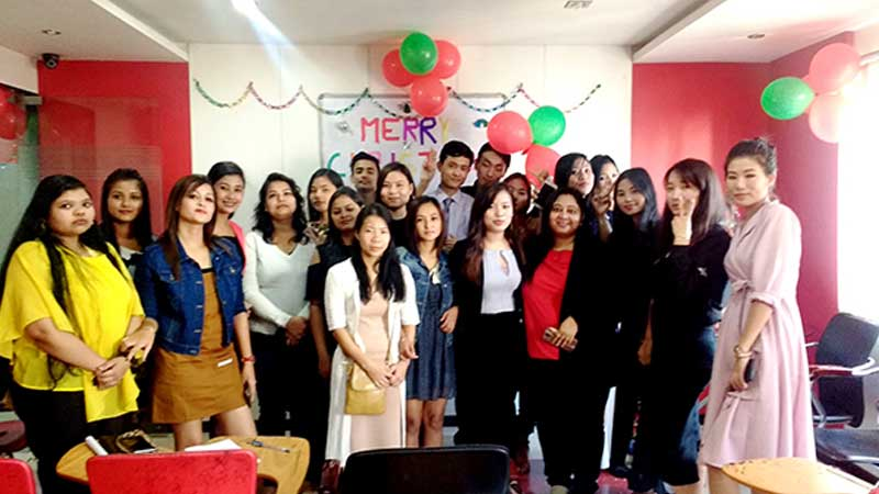 Christmas celebration at Sky International Academy