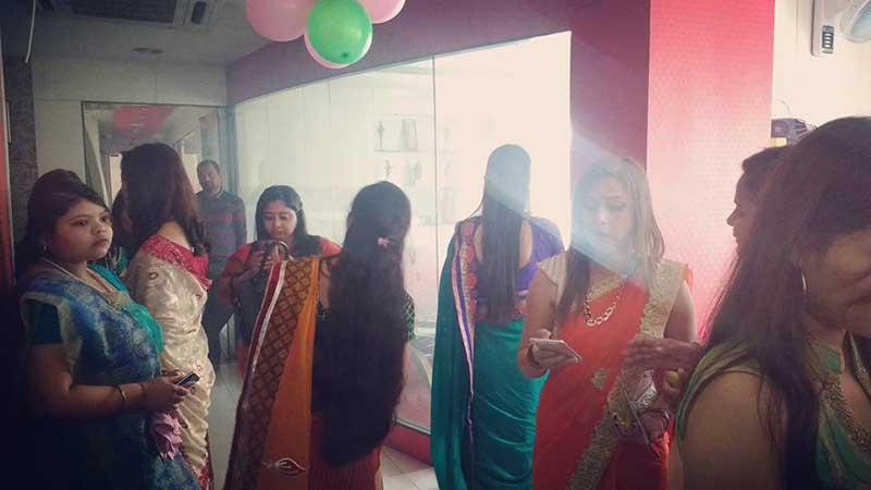 saraswati puja celebration at Sky International Academy